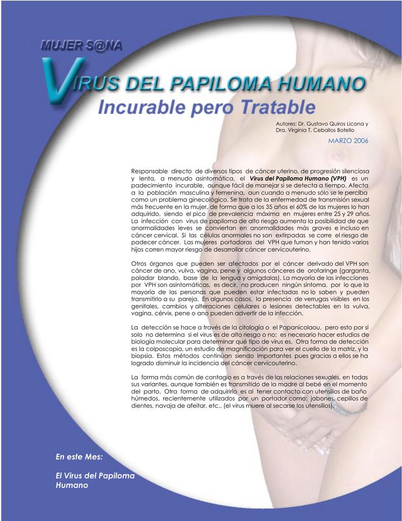 Medicamento para el papiloma en la boca - Virus del papiloma banos