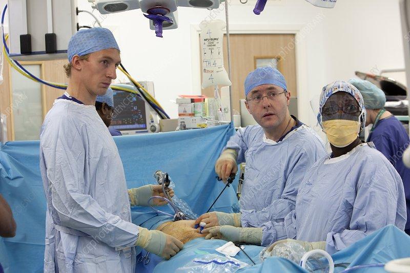 rectal cancer keyhole surgery