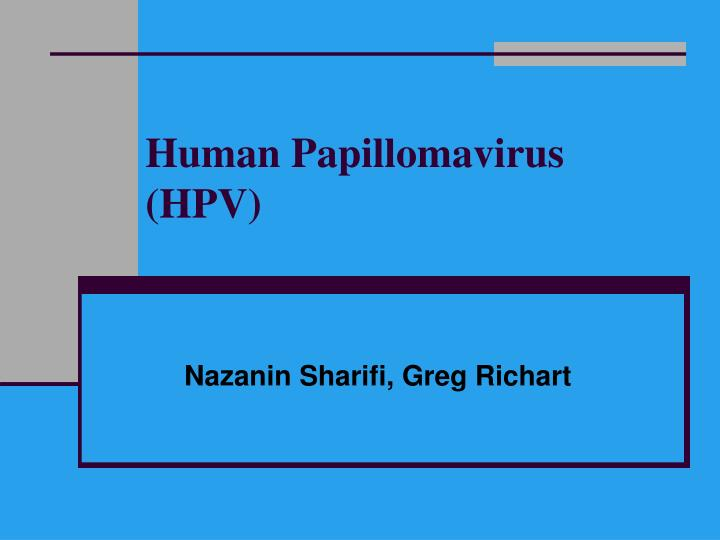 human papillomavirus infection ppt papillary urothelial tumor of low malignant potential