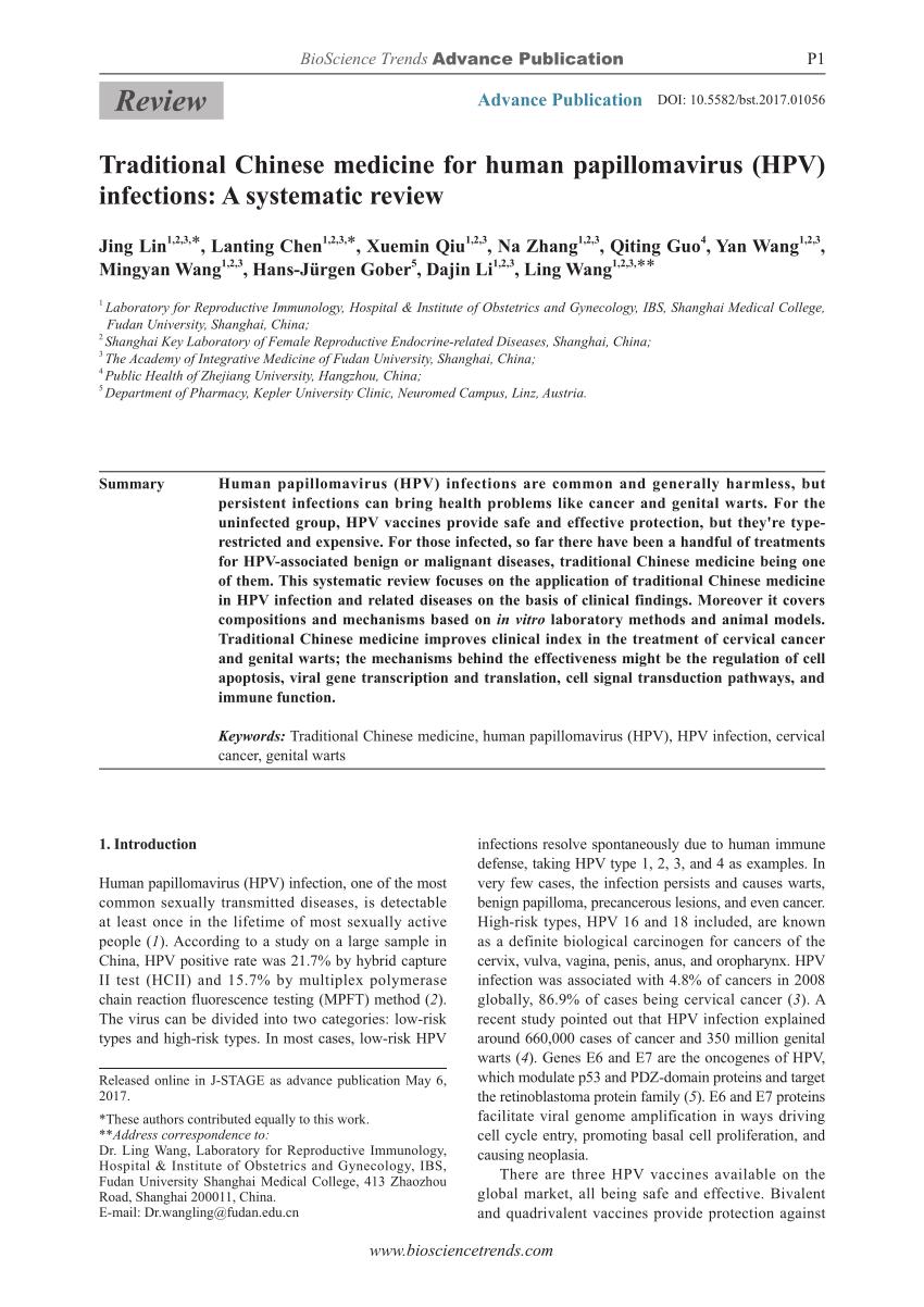 male papillomavirus vaccine helminti synevo