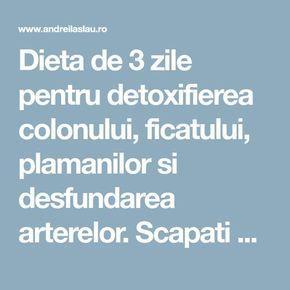detoxifierea ficatului in 3 zile oxiuri ataca ficatul