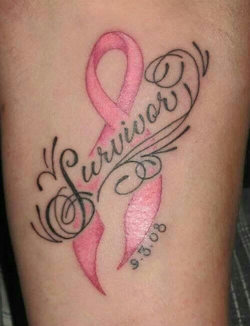 uterine cancer ribbon tattoos