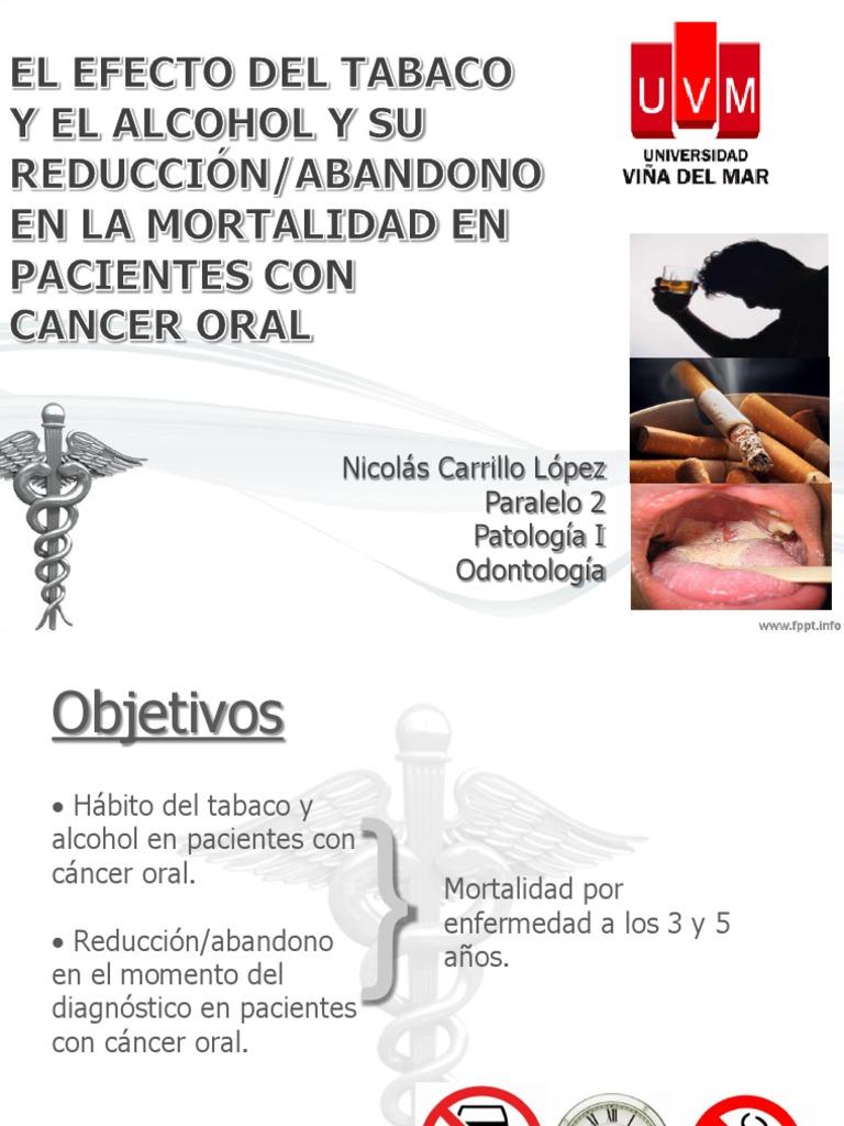 cancer bucal objetivos regim de detoxifiere a ficatului