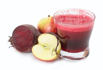 suc natural din sfecla rosie
