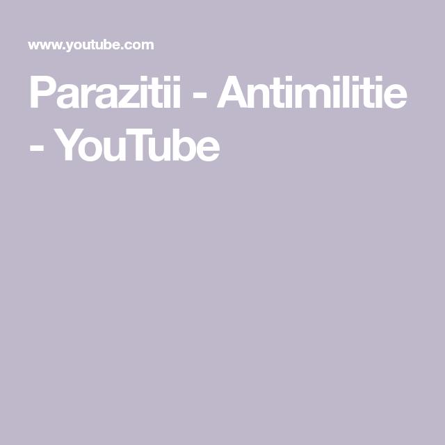 antimilitie parazitii enterobius vermicularis introduccion