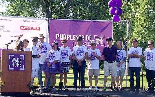 pancreatic cancer walk