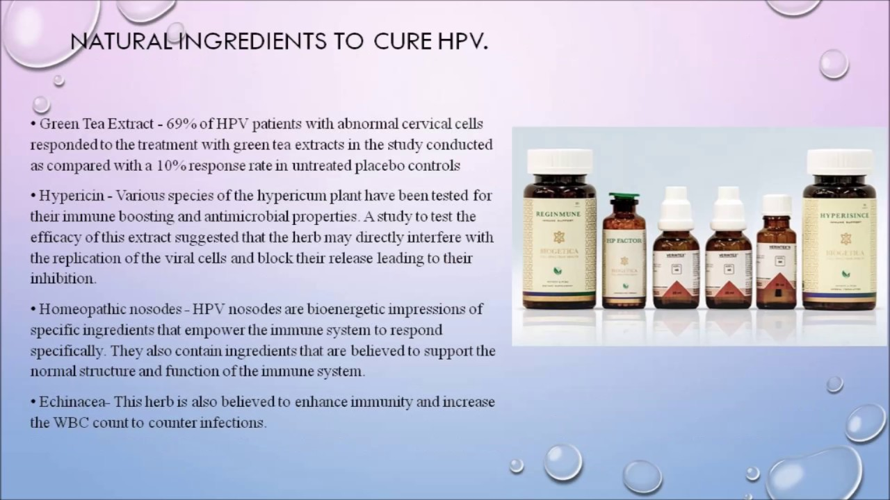 hpv virus holistic treatment