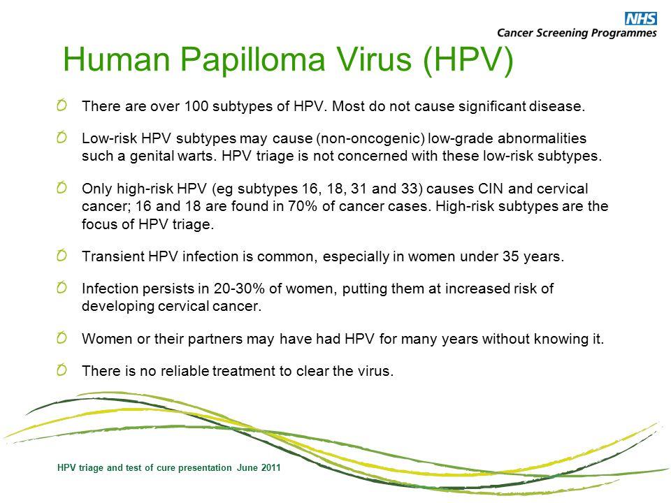 hpv virus nhs cancer rectal staging