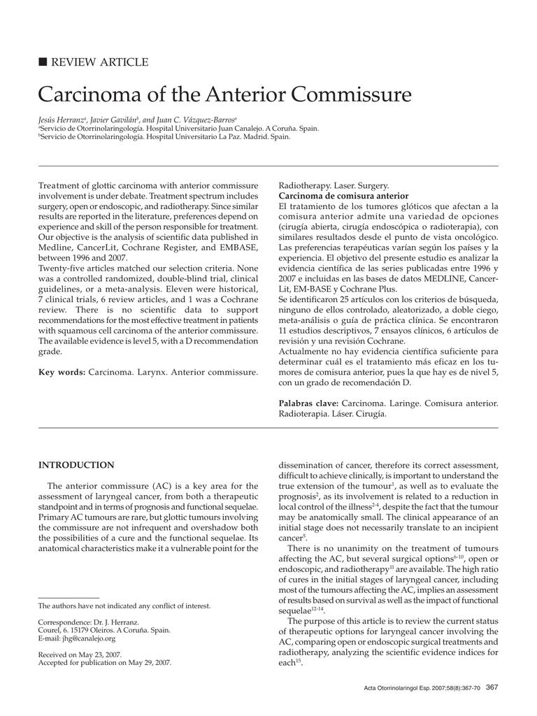 cancer invaziv laringe