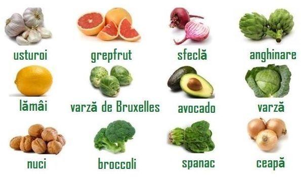detoxifiere ficat cu legume