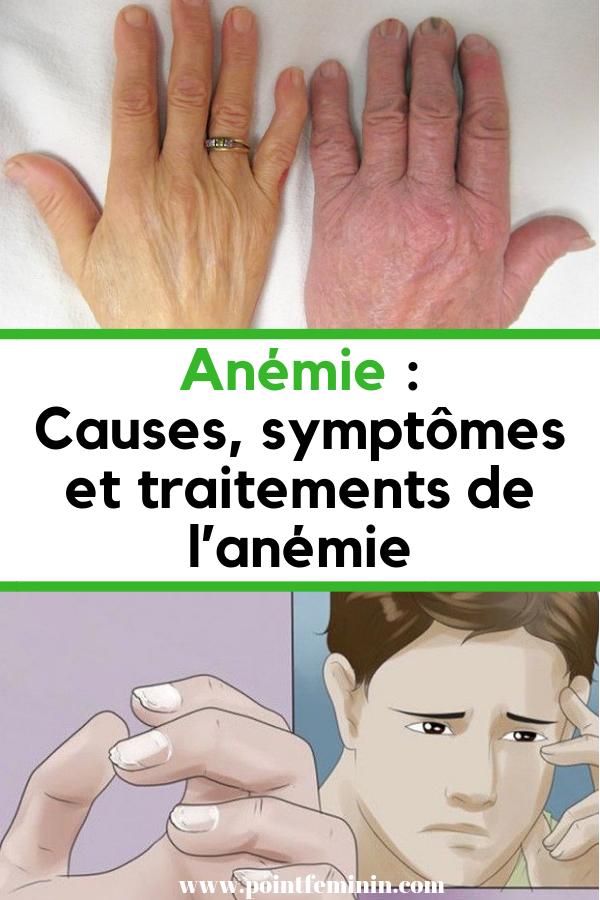 lanemie symptome