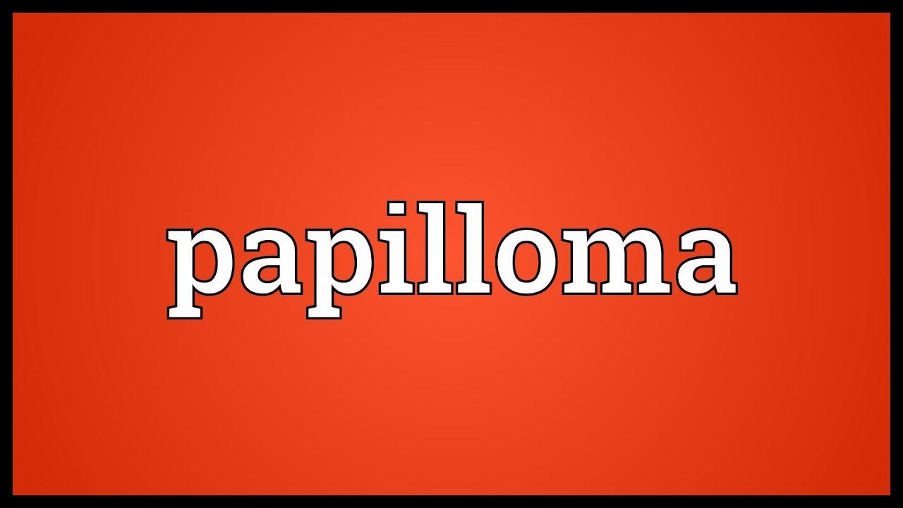 papilloma mean urdu