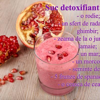cura detoxifiere retete