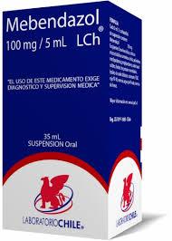 tratamiento con mebendazol para oxiuros