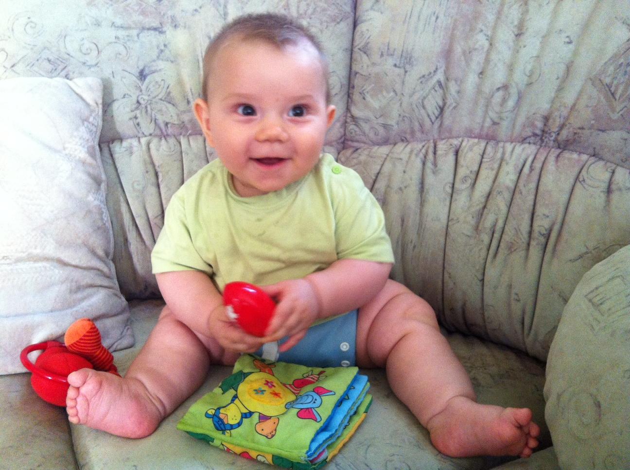 Bebelusul cu toxoplasmoza la nastere
