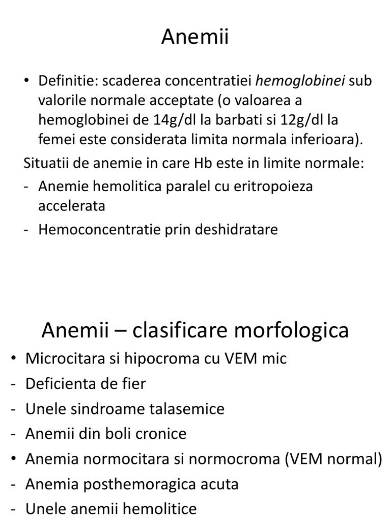 Anemia prin deficit de fier in sarcina