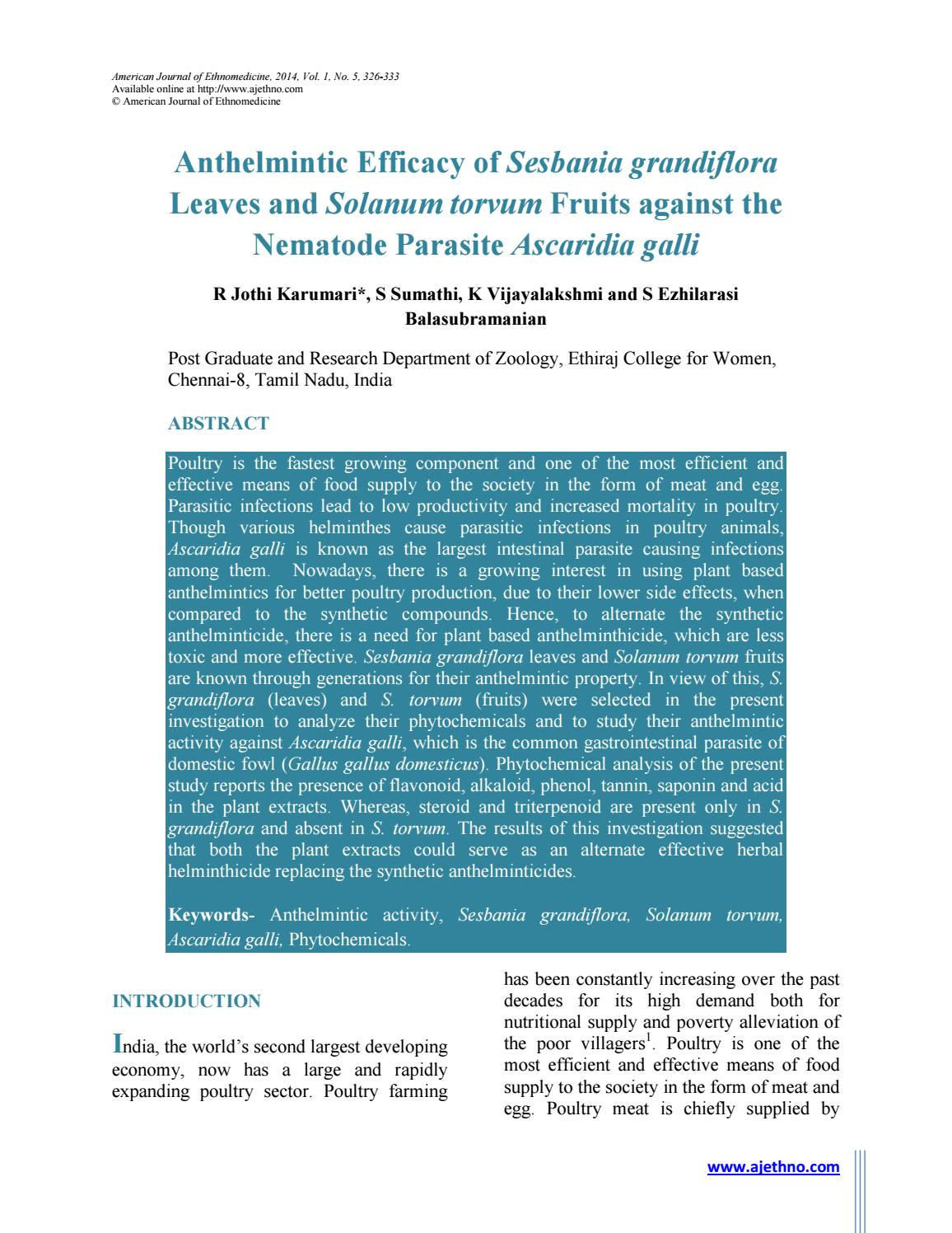 anthelmintic drugs for poultry papilloma virus pelle