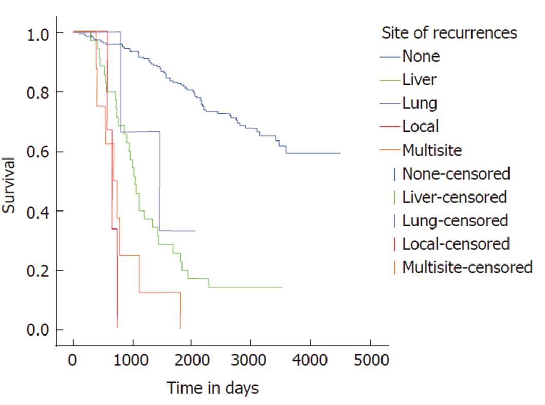 colorectal cancer recurrence human papillomavirus (hpv) infection