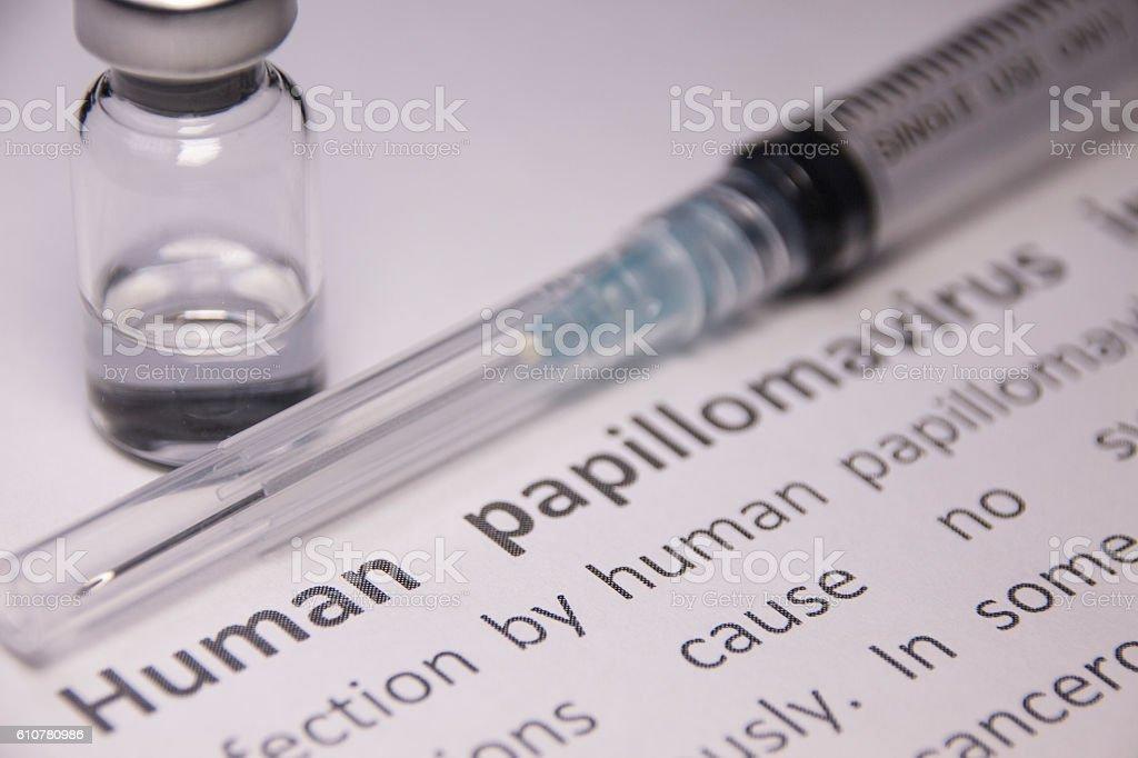 human papilloma virus vaccine