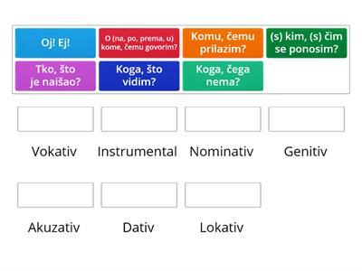 padezi srpski jezik testovi 5 razred