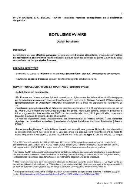 toxine botulique 2007 cancer pancreas dolor
